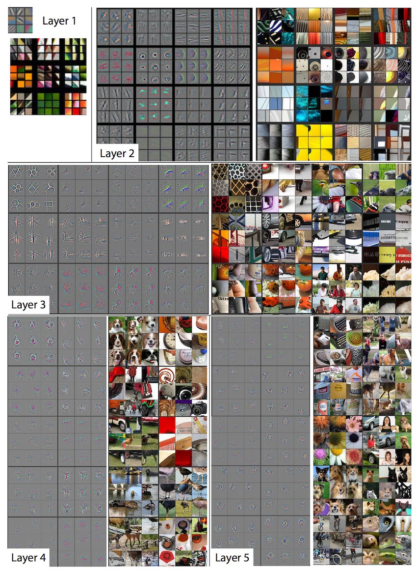 Visualizing convolutional layers