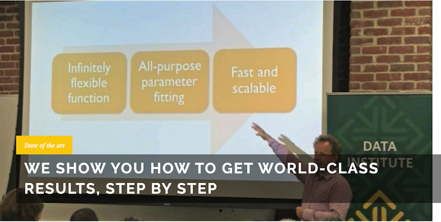 Fast.ai - how to get world-class results, step by step